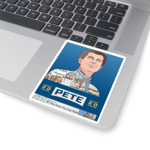 Pete Buttigieg 2020 Headline Sticker