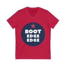Load image into Gallery viewer, Boot Edge Edge Short Sleeve V-Neck Tee - Boot Edge Edge Merch