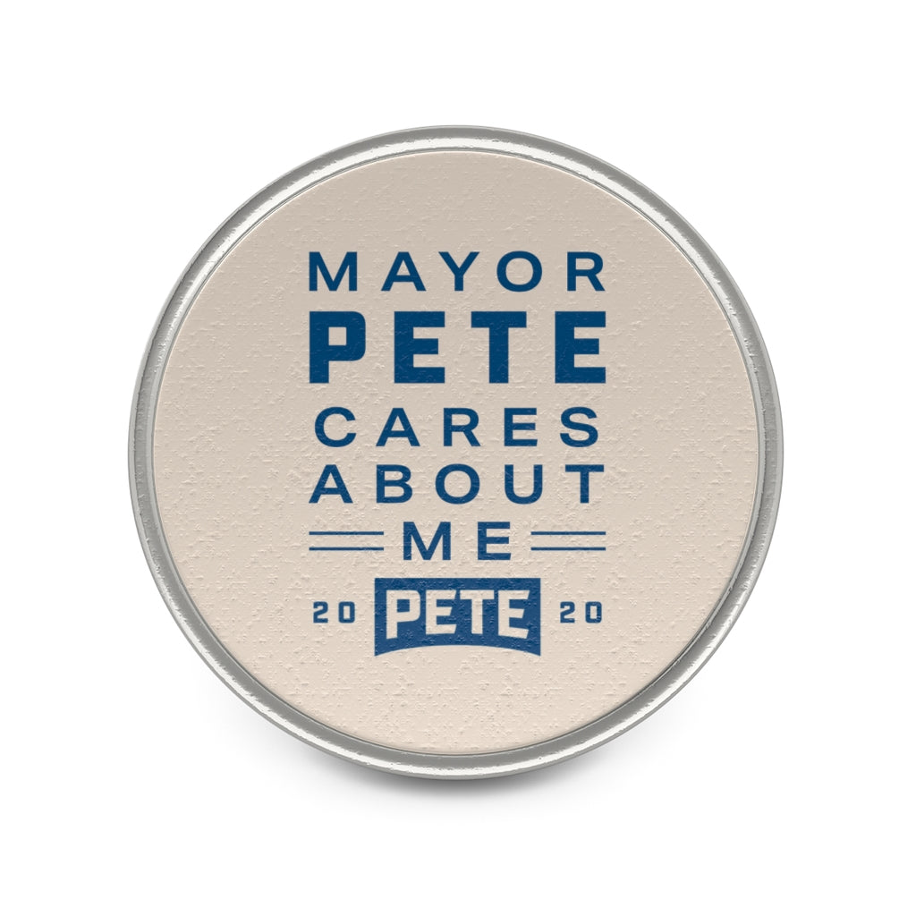 Mayor Pete Cares About Me Lapel Pin