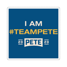 Load image into Gallery viewer, I Am #TeamPete Sticker - Boot Edge Edge Merch