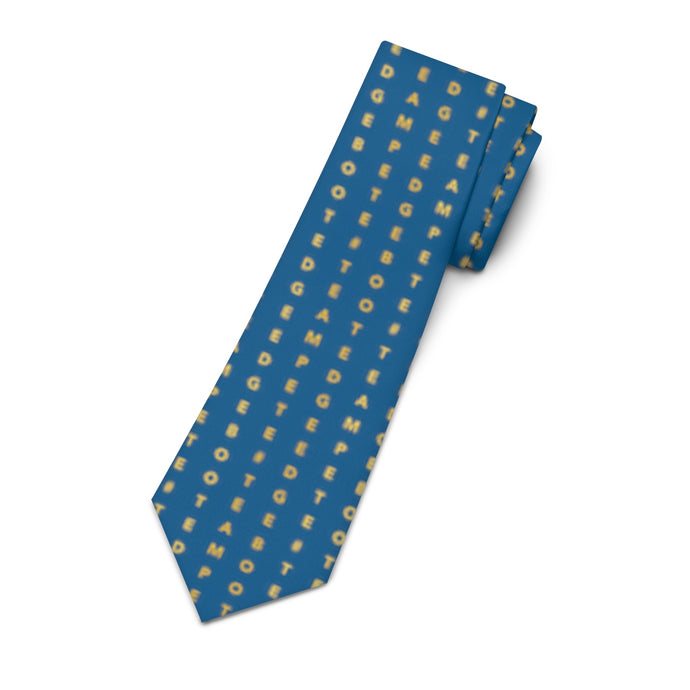 Verticle #TeamPete and Boot Edge Edge Necktie - Boot Edge Edge Merch