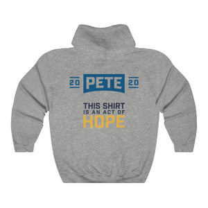 This Shirt Is An Act Of Hope Hoodie - Boot Edge Edge Merch