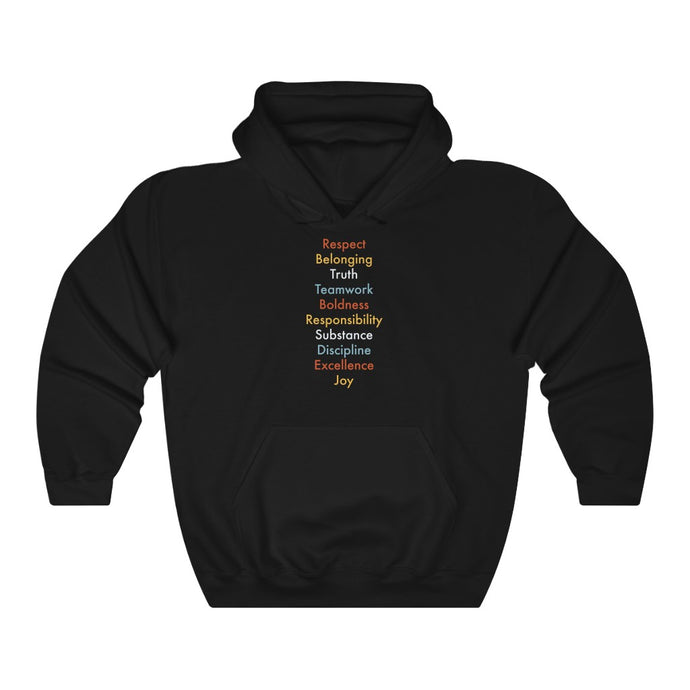 Rules Of The Road Hoodie [FRONT] - Boot Edge Edge Merch