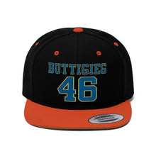Load image into Gallery viewer, Buttigieg 46 Flat Bill Hat - Boot Edge Edge Merch