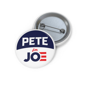 Pete For Joe Button - Boot Edge Edge Merch