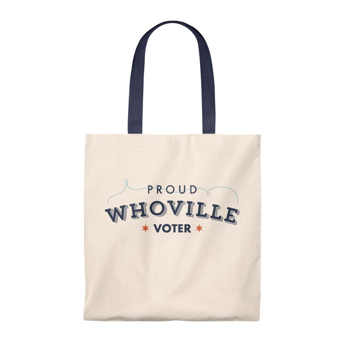 Proud Whoville Voter Tote Bad - Boot Edge Edge Merch