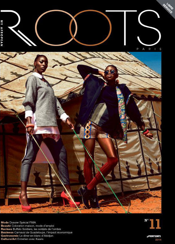 ROOTS, premium black lifestyle magazine