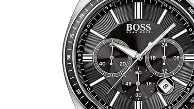 Review: Hugo Boss HB1513080 - Mens Silver Chronograph Stainless Steel Sports Watch