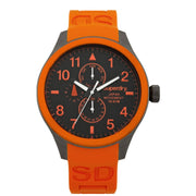 Superdry Mens Orange Scuba Watch SYG110O