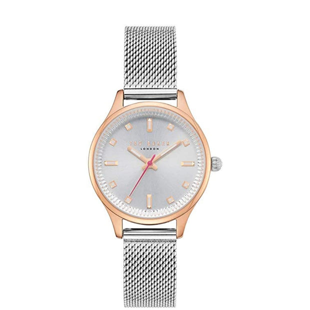 Ted Baker Ladies Mesh Strap Watch TE50650003