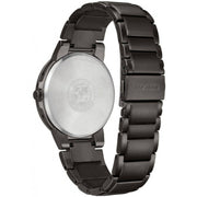 Citizen Men's Axiom Black Dial Stainless Steel Bracelet Watch BJ6517-52E