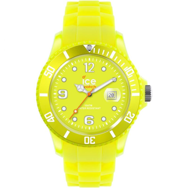 Ice-Watch Unisex Ice-Flashy Neon Yellow 40mm Watch SS.NYW.U.S.12