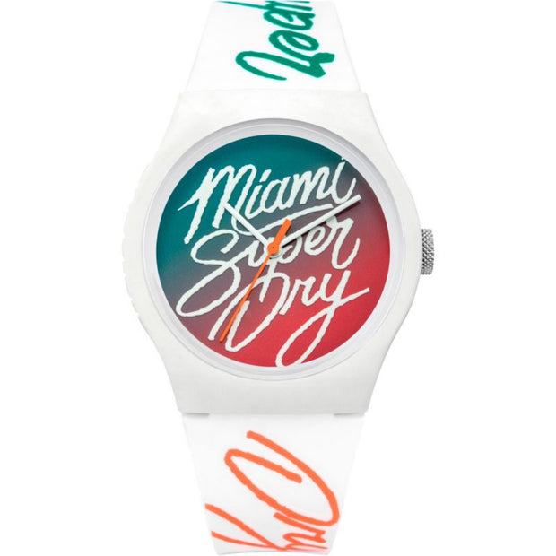 Superdry Ladies Urban Ombre Flash Silicone Watch SYL180WO