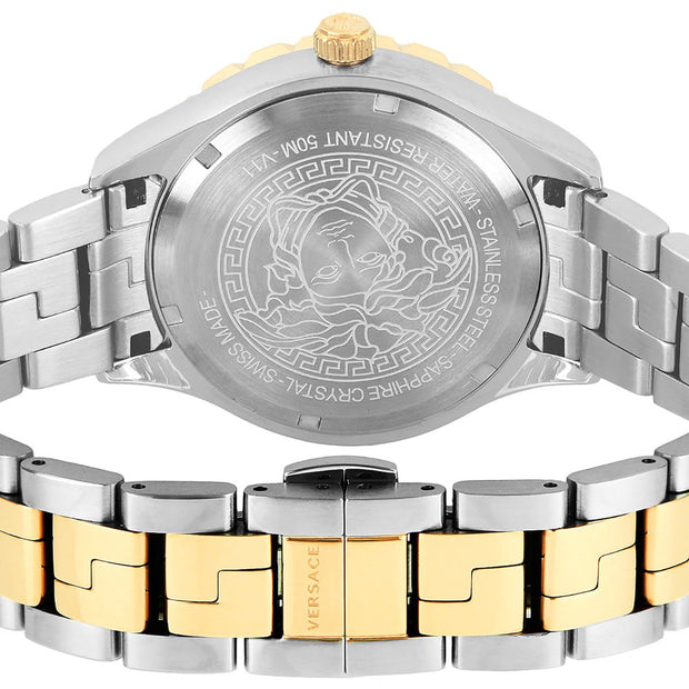 Versace Men's Hellenyium GMT Swiss Made Watch V11040015