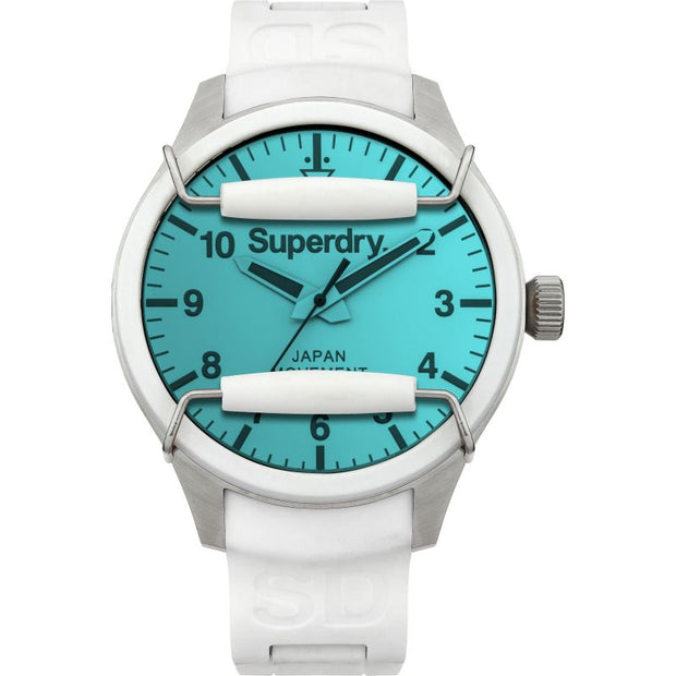 Superdry Mens/Unisex Japanese Quartz Scuba Solar Watch SYG125W
