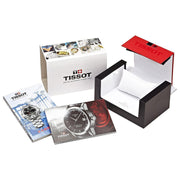 Tissot Le Locle Powermatic 80 Automatic Black Dial Open Back Swiss Made Men's Watch T0064073605300