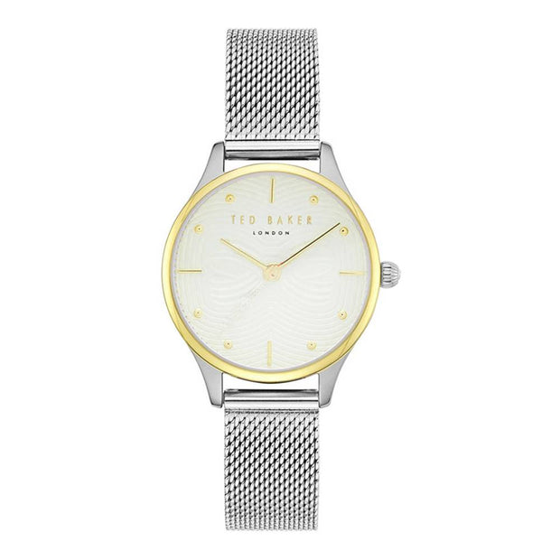 Ted Baker Ladies Quartz Mesh Strap Watch TE50704001