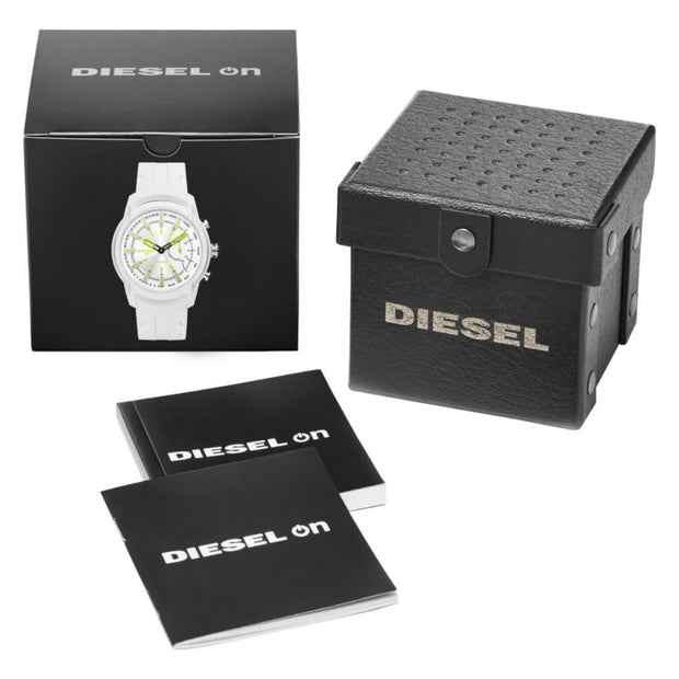 Diesel On Mens Armbar Quartz Connected Hybrid Smartwatch DZT1015