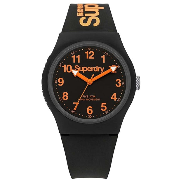 Superdry Men's Analogue Quartz Silicone Strap Watch SYG164B