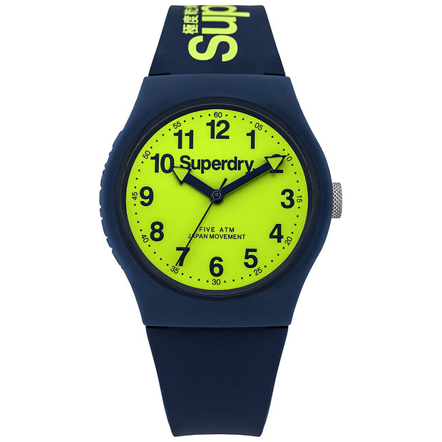 Superdry Men's Analogue Quartz Silicone Strap Watch SYG164UN