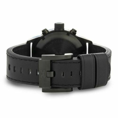 TW Steel Marc Coblen Edition Mens Chronograph Black Leather Strap Watch TWMC18