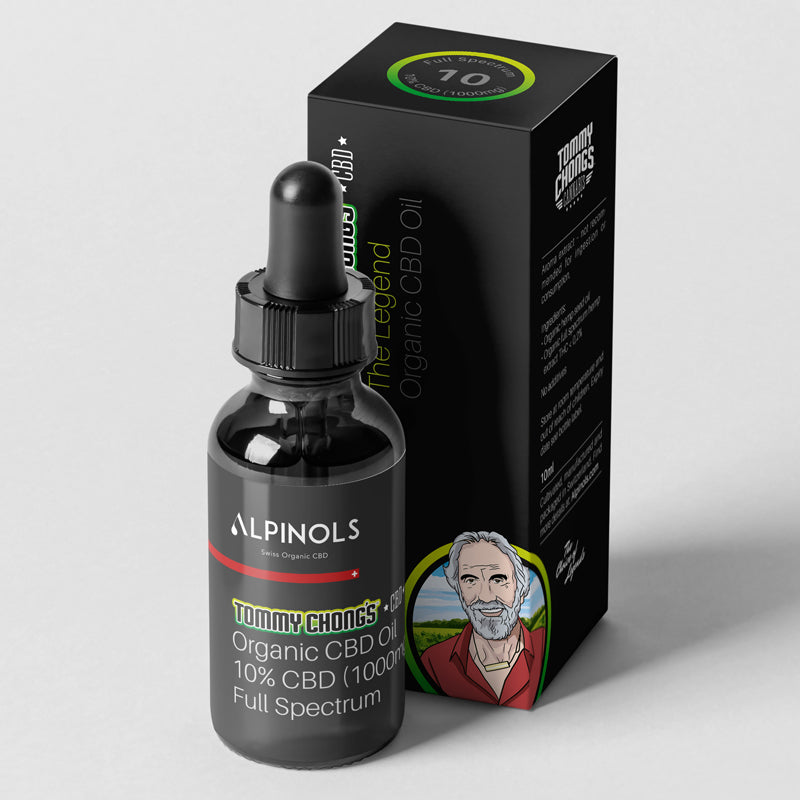 The Legend - 10% Full Spectrum CBD-Öl mit Bio-Hanfsamenöl