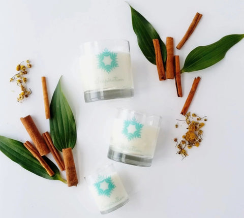 Scented Soy Candle - SPA - Cinnamon