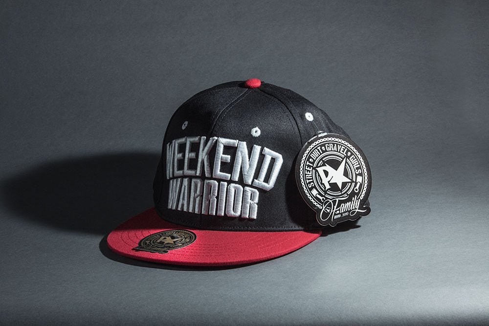 Weekend Warrior Snapback | Red