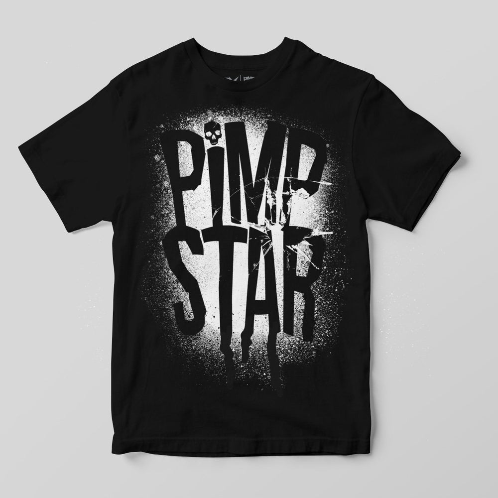 Pimpstar Bones And Ink | T-shirt, Black