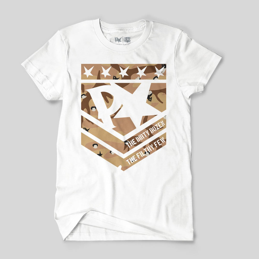 Pimpstar Filthy Few | T-shirt, White