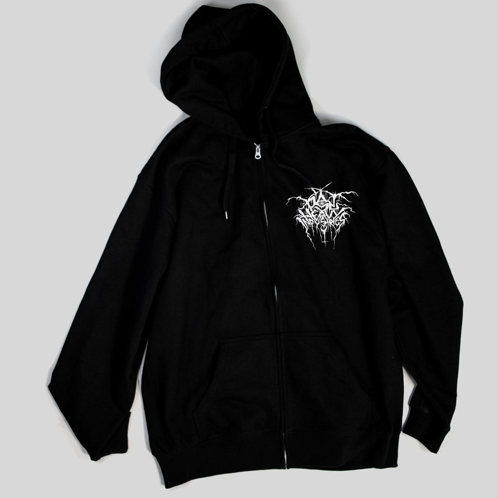 PSL Heavy Ind - Throne | Zip Hoodie, Black