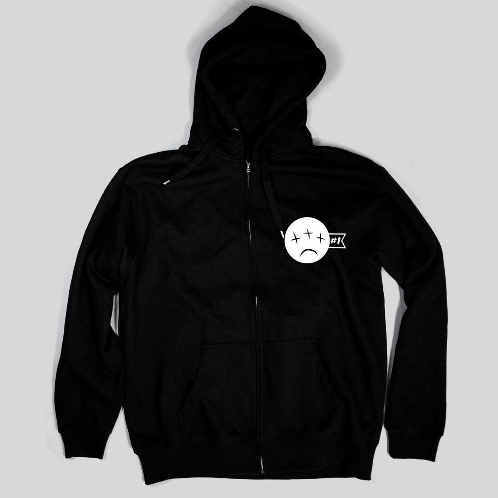 PSL Heavy Ind - All Eyes Blind | Zip Hoodie, Black