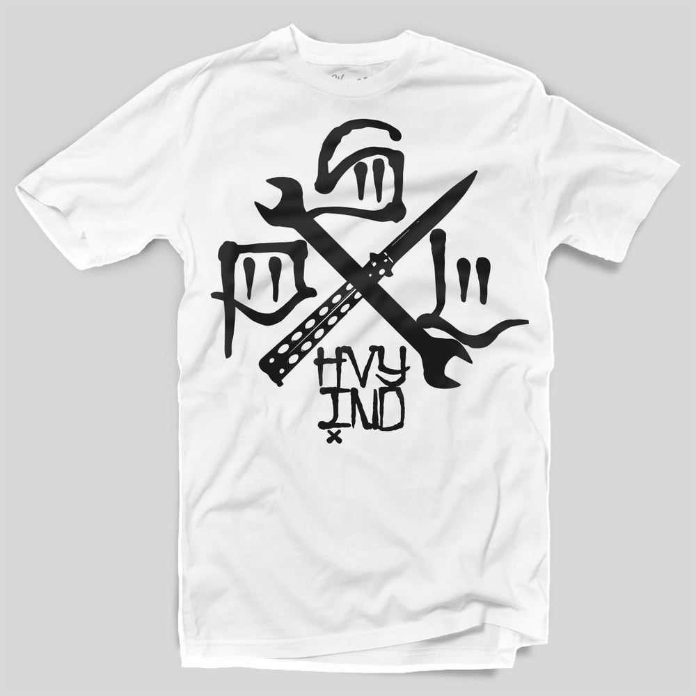 PSL Heavy Ind - Tools Of the Trade | T-shirt, White