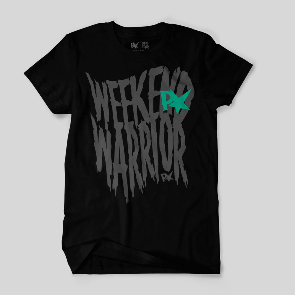 Pimpstar Weekend Warrior Trash | T-shirt, Black