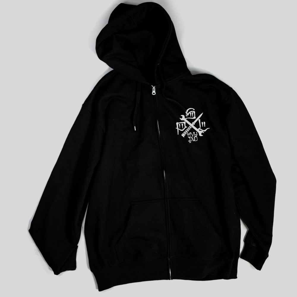 PSL Heavy Ind - Tools Of the Trade | Zip Hoodie, Black