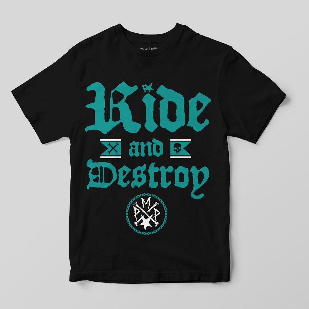 Pimpstar Ride And Destroy | T-shirt, Black