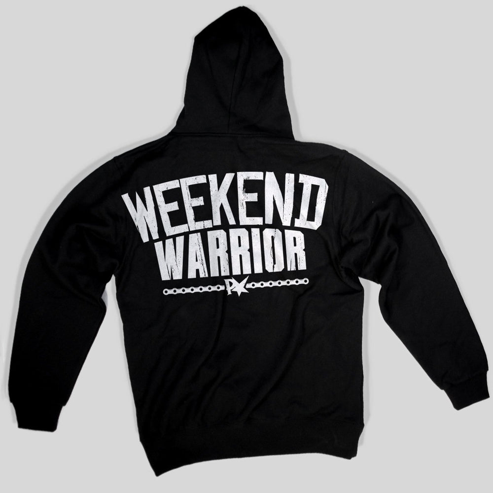 Pimpstar Weekend Warrior | Non-zip Hoodie, Black