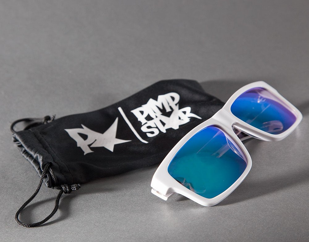 Sunglasses SPEXIAL | White & Blue