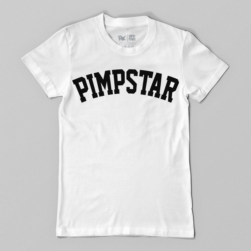 Pimpstar Team | T-shirt, White