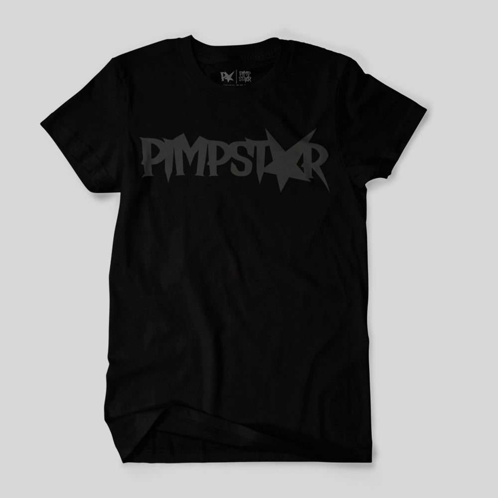 Pimpstar One Row | T-shirt, Black