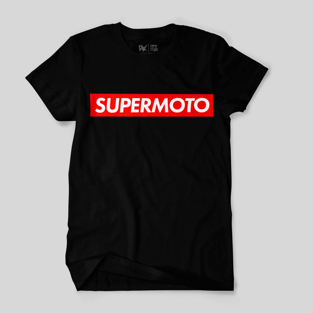 Pimpstar Supermoto | T-shirt, Black