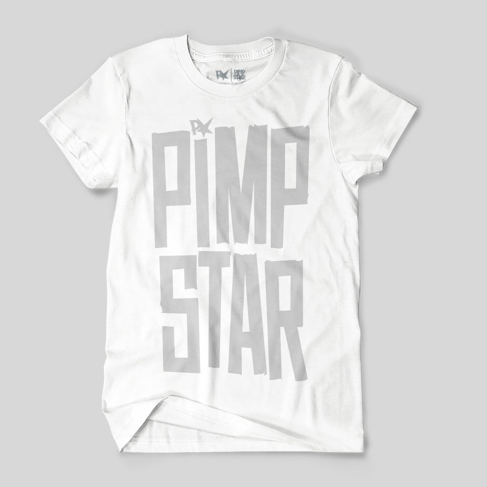 Pimpstar Tape | T-shirt, White