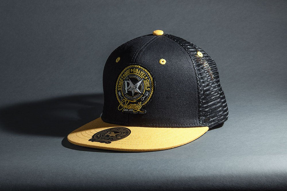 Pimpstar Family Trucker Cap | Black & Yellow