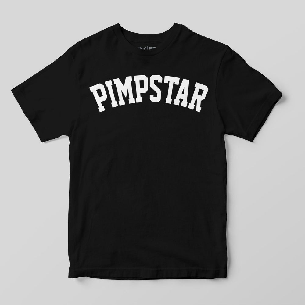 Pimpstar Team | T-shirt, Black