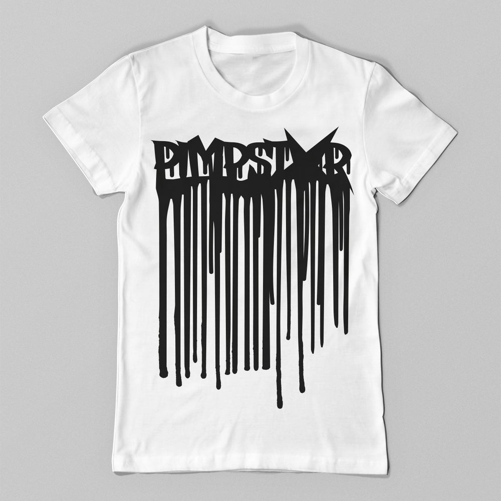 Pimpstar Ink | T-shirt, White