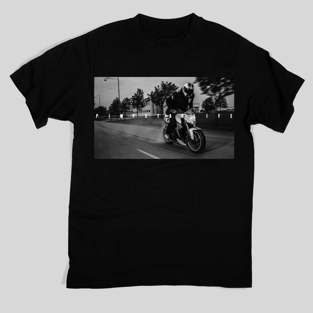 Pimpstar Signature - Speedburn | T-shirt, Black