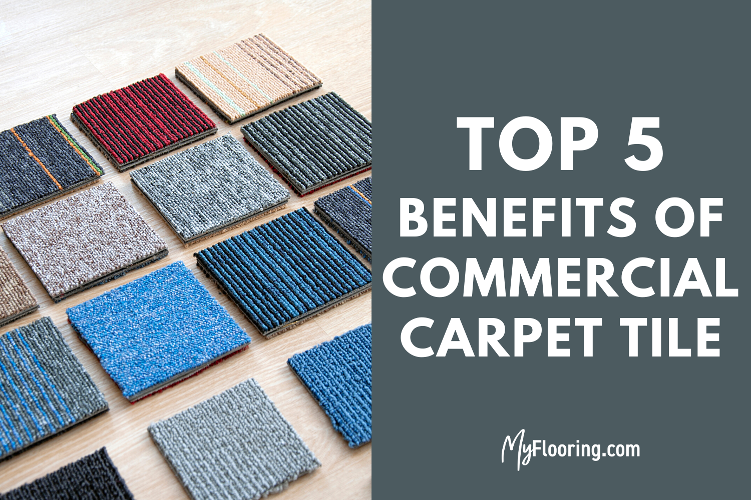 benefits of commercial carpet tiles