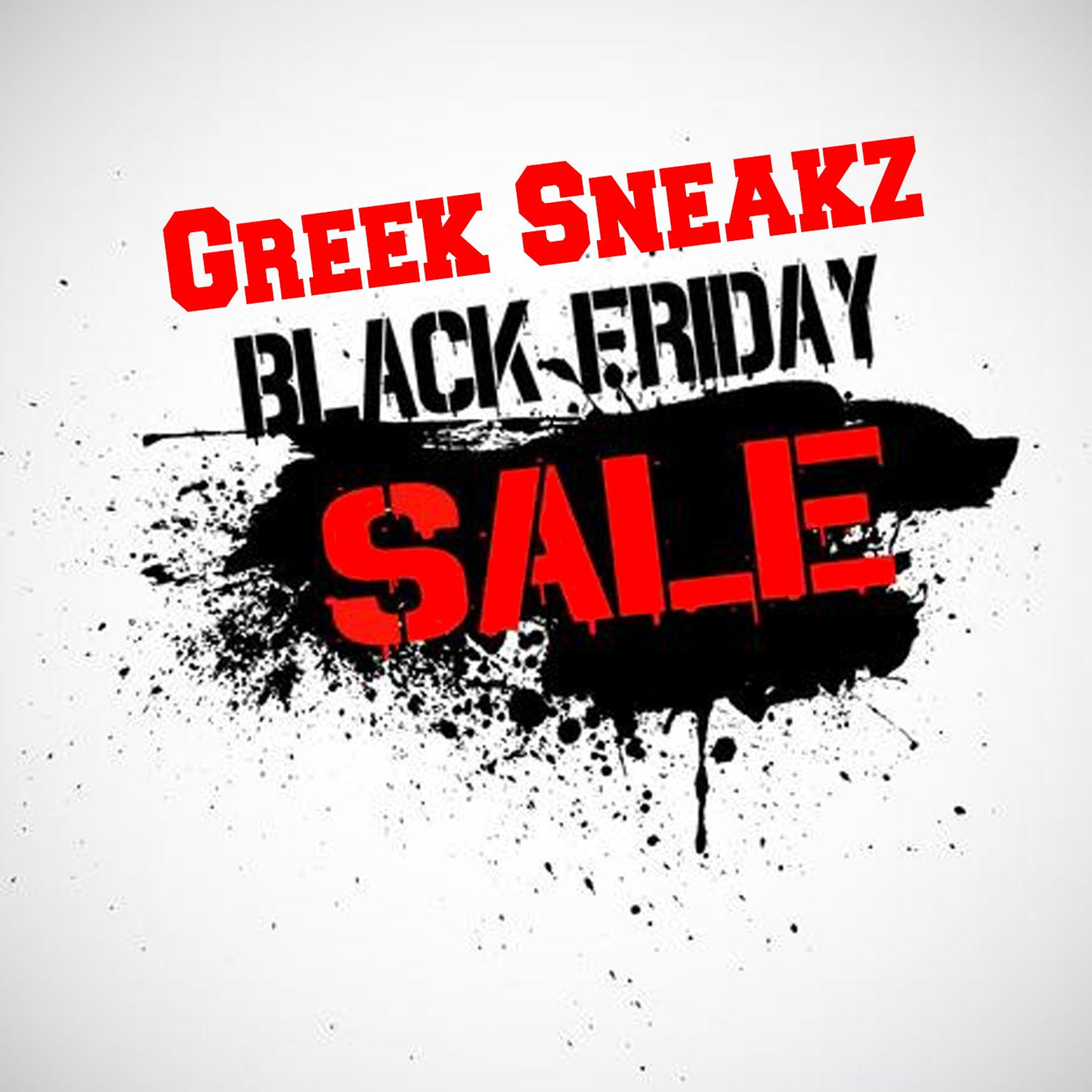 Greek Sneakz Black Friday Deals