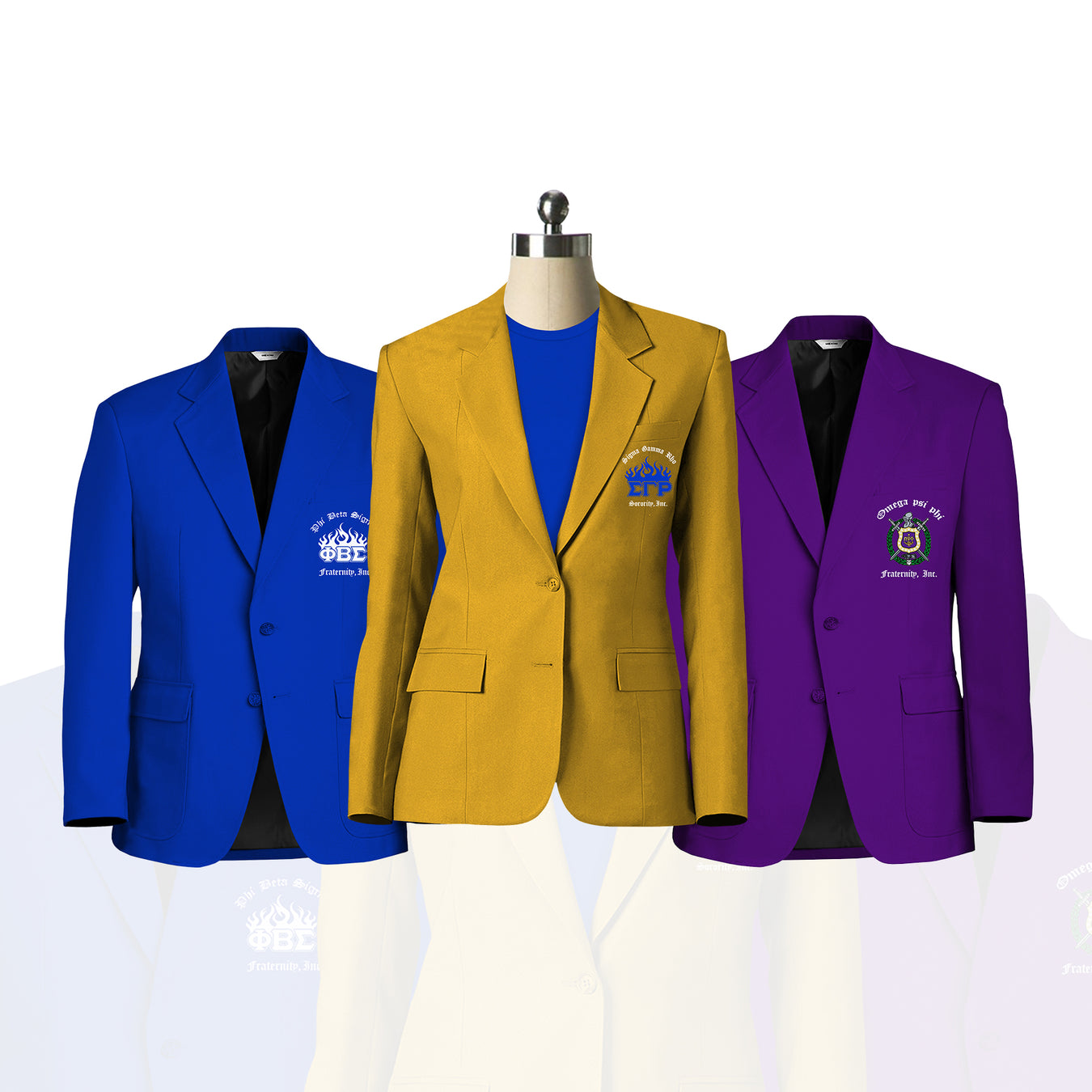 Greek Sneakz Fraternity / Sorority Blazers