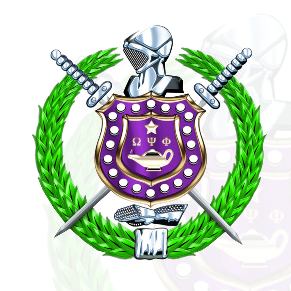 Omega Psi Phi Greek Paraphernalia